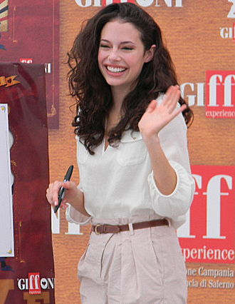 Chloe Bridges - Bridges at the Giffoni Film Festival in July 2010