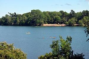 Chocolate Lake - Chocolate Lake, including city beach