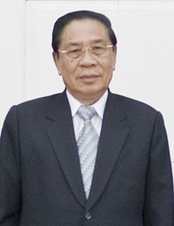 Choummaly Sayasone former General Secretary of the Lao Peoples Revolutionary Party