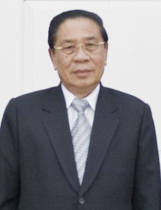 General Secretary of the Lao People's Revolutionary Party - Image: Choummaly Sayasone
