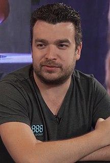 Chris Moorman British poker player