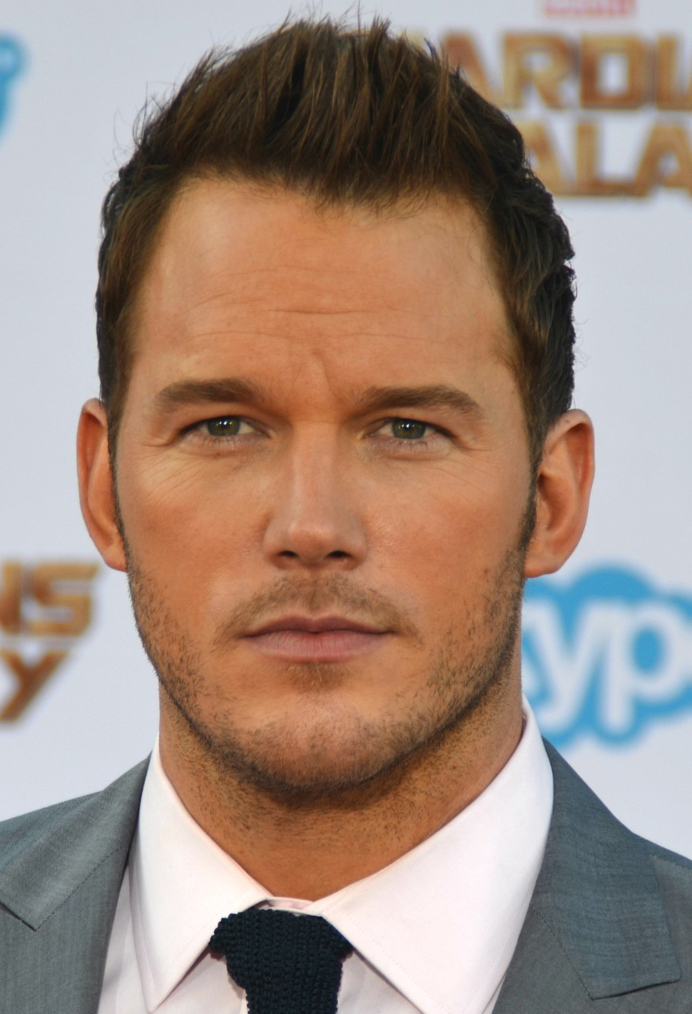 Chris Pratt - Guardians of the Galaxy premiere - July 2014 (cropped)