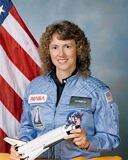 Christa McAuliffe American educator and astronaut