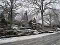 Chrystal Shrine Grotto and Pond Memphis TN Winter Snow 1.jpg