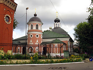 Church of Saint Nicholas in Preobrazhenskoye Cemetery 02.jpg