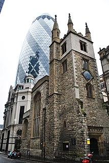 St Andrew Undershaft Church in London