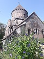 Church of the Holy Mother of God, Bjni with flowers.jpg