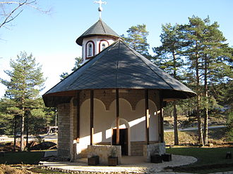 Divčibare - Image: Church on Divčibare