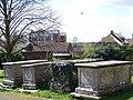 Churchyard, St Laurence's Church, Downton - geograph.org.uk - 753154.jpg