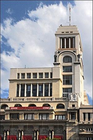 Círculo de Bellas Artes - Image: Circulo de Bellas Artes (Madrid)