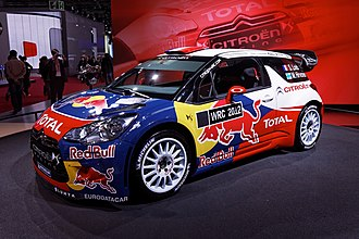 2012 Paris Motor Show - Citroën DS3 WRC at Paris 2012