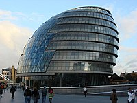 London City Hall adalah markas besar dari Greater London Authority (GLA) yang dihuni oleh Mayor of London dan London Assembly. Bangunan ini berlokasi di Sungai Thames di Borough Southwark