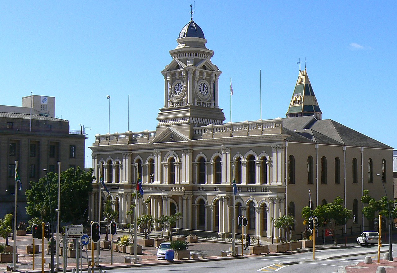 Port Elizabeth South Africa  City pictures : City Hall, Market Square, Port Elizabeth, South Africa