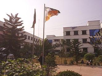 City University, Bangladesh - City University Campus at Birulia in Savar.