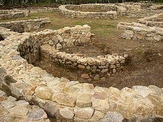 Cividade de Terroso - Citadel's ruins.