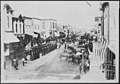 Civil War Veterans, Fourth of July or Decoration Day, Ortonville, Minnesota. On review in center of town, ca. 1880. (4745178919).jpg