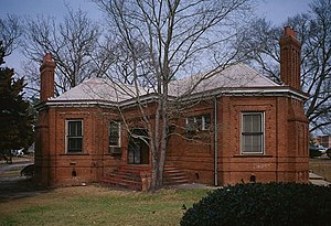 National Register of Historic Places listings in Orangeburg County, South Carolina - Image: Claflin College, Lee Library, College Avenue, Orangeburg (Orangeburg County, South Carolina)