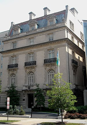 Foreign relations of Uzbekistan - Embassy of Uzbekistan in Washington, D.C.