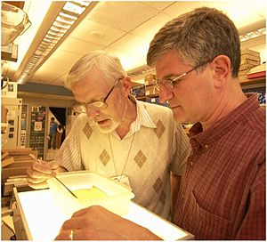 H. Fred Clark and Paul Offit, the inventors of...