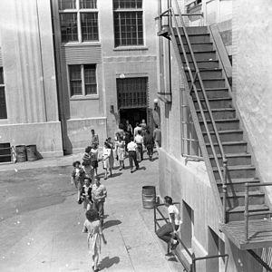 Inglewood High School (California) - Interval between class periods, 1947