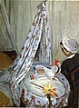 """Claude Monet """"Jean Monet in His Cradle"""", of the baby with Julie Vellay.jpg"""