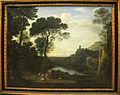 Claude lorrain, paesaggio con la ninfa egeria, 1669, Q184.JPG