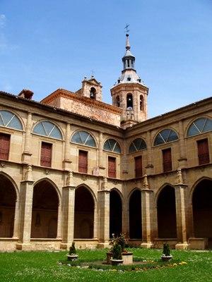 Monasteries of San Millán de la Cogolla - Image: Claustro.04