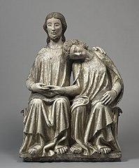 Christ and Saint John the Evangelist (1928.753)