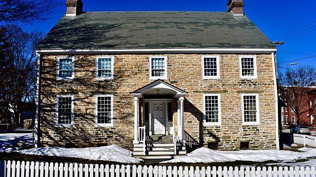 File clinton house poughkeepsie new wikimedia for Clinton house new york