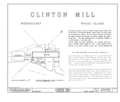 Clinton Mill, 93 Clinton Street, Woonsocket, Providence County, RI HABS RI,4-WOON,1- (sheet 1 of 2).png