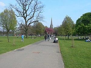 Clissold Park - Image: Clissold Park, Stoke Newington geograph.org.uk 397183