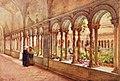 Cloister of San Paolo fuori le Mura by Alberto Pisa (1905).jpg