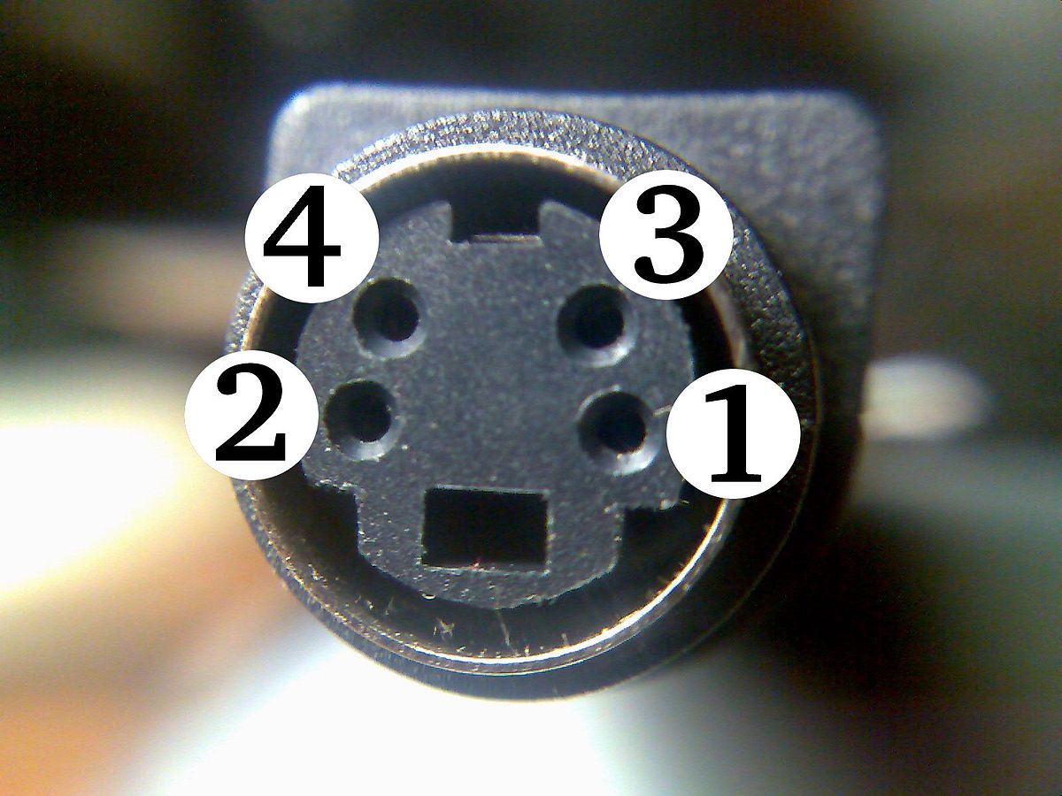 S Video Wikipedia Wiring Diagram For Usb Plug