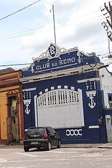90c0d2b45f Sede náutica do Clube do Remo.