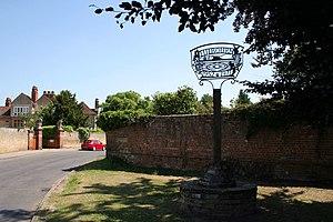 Fulbourn - Image: Cmglee Fulbourn village sign