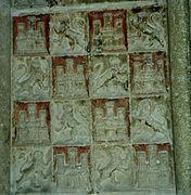 Coa Kastilien und León in cathedral.jpg
