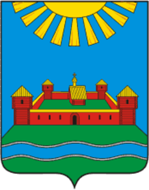 Krasnogorodsky District - Image: Coat of Arms of Krasnogorodsky rayon (Pskov oblast)
