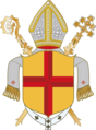 Coat of arms of Archdiocese of Freiburg.png