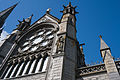 Cobh St. Colman's Cathedral South Transept Rosary Window Exterior View 2015 08 27.jpg
