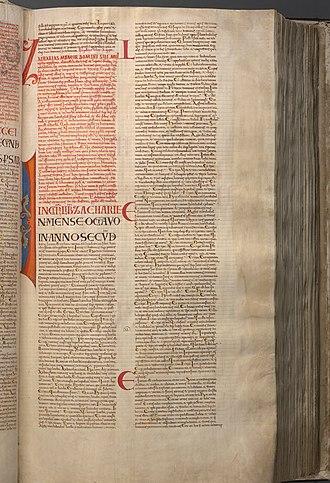 Zechariah 4 - Image: Codex Gigas 117 Minor Prophets