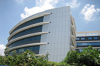 North 24 Parganas district - The Cognizant Technology Solutions office in Sector V.