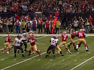 Colin Kaepernick - Kaepernick in Super Bowl XLVII.