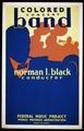 Colored concert band, Norman L. Black, conductor LCCN98509681.tif