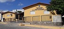 """Fórum """"Dr. Jaime Jenner de Aquino"""", sede da Comarca de Pau dos Ferros."""
