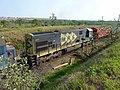 Comboio que saía sentido Guaianã do pátio da Estação Ferroviária de Salto - Variante Boa Vista-Guaianã km 210 - panoramio (3).jpg