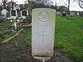 Commonwealth War Grave in Jarrow Cemetery (WW2-35) - geograph.org.uk - 1605063.jpg