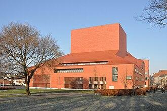 Concertgebouw, Bruges - Image: Concertgebouw R01