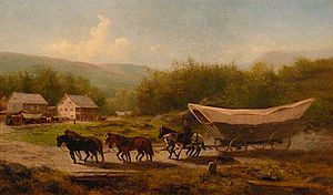 Great Wagon Road - Conestoga Wagons on the Great Road