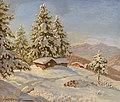 Constantin Westchiloff - Mountain Cabins Under Snow.jpg