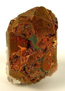 Native copper from Iraí